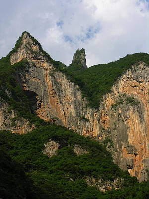 Photograph - Yangtze River - Three Gorges - Wu Gorge by Jacqueline M Lewis