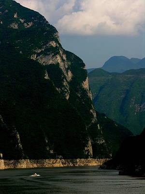 Photograph - Yangtze River - Three Gorges - Xiling Gorge by Jacqueline M Lewis