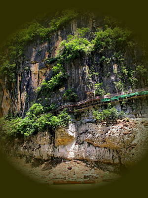 Photograph - Yangtze River - Wu Or Sorcer's Gorge by Jacqueline M Lewis