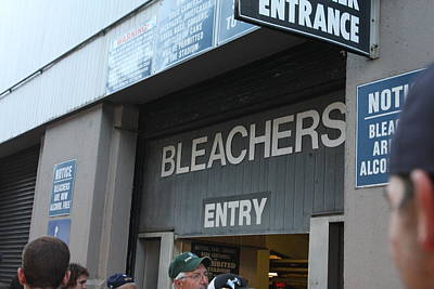 Yankee Stadium Bleachers Photograph - Yankee Entrance by Jamie Christian