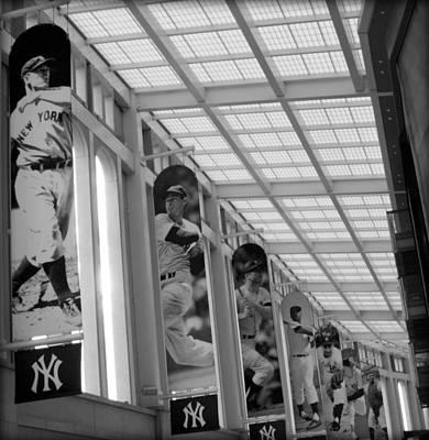 Joe Dimaggio Vintage Photograph - Yankee Legends by Aurelio Zucco