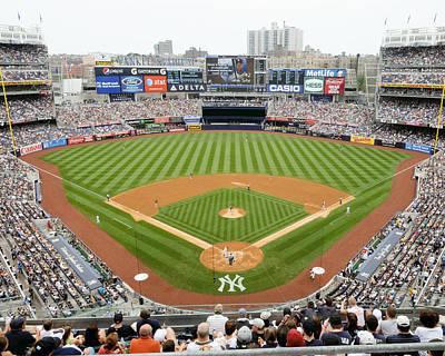 Yankee Stadium Wall Art - Photograph - Yankee Stadium Ballpark New by Horsch Gallery