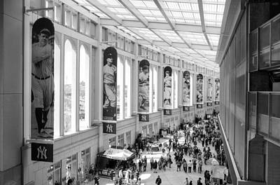 Photograph - Yankee Stadium Hall Of Fame by Dave Beckerman