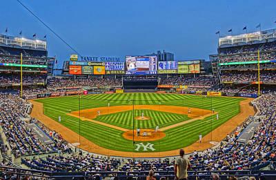 Yankee Stadium Art Print by Jeffrey Friedkin