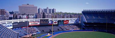 Yankee Stadium Bleachers Photograph - Yankee Stadium Ny Usa by Panoramic Images