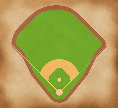 Babe Ruth Digital Art - Yankees Field by Carl Scallop
