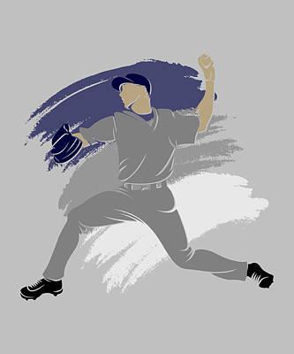 New York Yankees Photograph - Yankees Shadow Player by Joe Hamilton