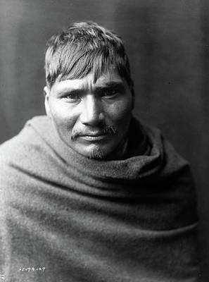 Yaqui Photograph - Yaqui Man, C1907 by Granger