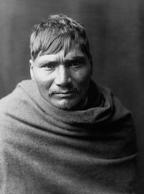 1907 Photograph - Yaqui Man Circa 1907 by Aged Pixel