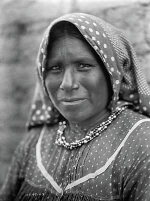 Yaqui Photograph - Yaqui Woman, C1907 by Granger