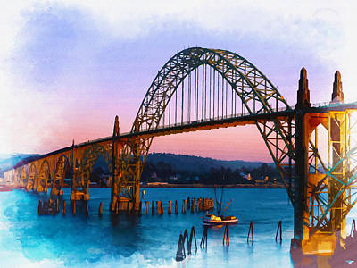 Yaquina Bay Bridge Original