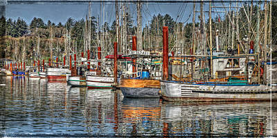 Photograph - In Harbor by Thom Zehrfeld