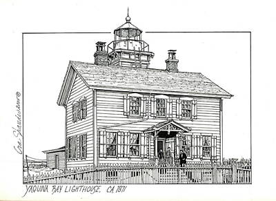 Yaquina Bay Lighthouse Original