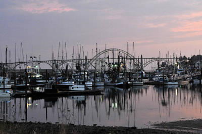 Photograph - Yaquina Bay by Rebecca Parker
