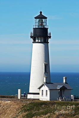 Yaquina Head Light Eight Print by Donald Sewell