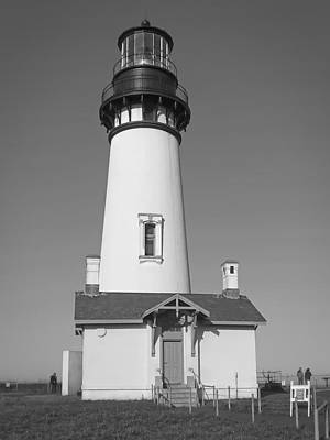 Haunted Shack Photograph - Yaquina Head Lighthouse 1 - Oregon by Daniel Hagerman