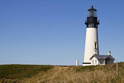 Yaquina Head Lighthouse 3 Art Print by David Gn
