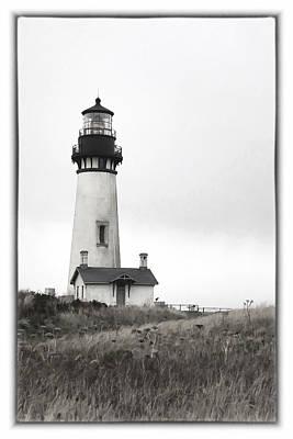 Yaquina Head Lighthouse Art Print by Charrie Shockey