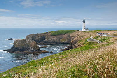 Art Print featuring the photograph Yaquina Head Lighthouse by Jeff Goulden