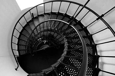 Photograph - Yaquina Head Stairway Down by Rebecca Parker