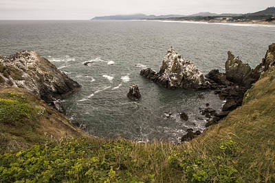 Photograph - Yaquina Head View 3 by Lee Kirchhevel