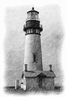 Yaquina Lighthouse Art Print