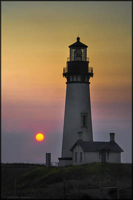 Photograph - Yaquina Lighthouse by Erika Fawcett