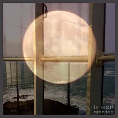 Photograph - Yaquina Moon  by Susan Garren