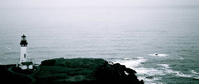 Photograph - Yaquina Shores by Sheldon Blackwell