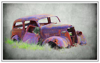 Photograph - Ford Yard Art by Steve McKinzie