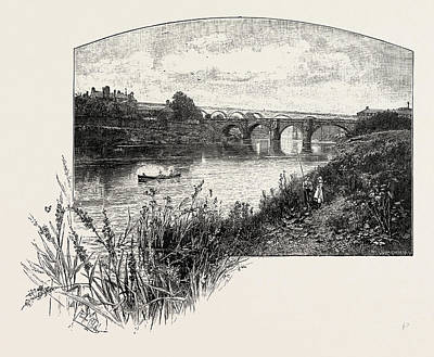 Stockton Drawing - Yarm Is A Small Town And Civil Parish In The Unitary by English School