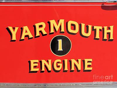 Whimsically Poetic Photographs - Yarmouth Engine 1 by Elizabeth Dow
