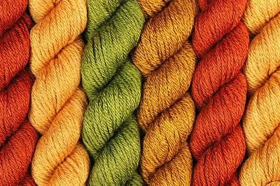 Yarn With A Twist Art Print by Jim Hughes
