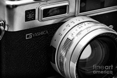 Photograph - Yashica G by John Rizzuto