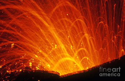 Photograph - Yasur Volcano by Stephen & Donna O'Meara
