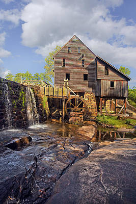 Grist Mill Photograph - Yates Grist Mill by Marcia Colelli