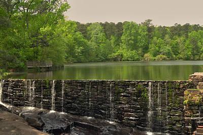 Yates Mill Photograph - Yates Mill Pond by Paulette B Wright