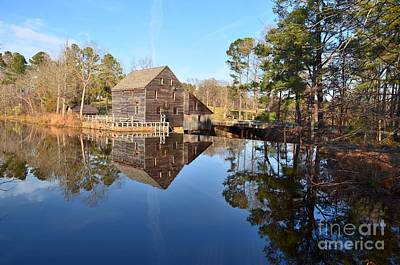 Photograph - Yates Mill Reflections by Bob Sample