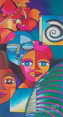 Painting - Yau Ni Viti I by Maria Rova