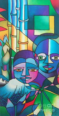 Painting - Yau Ni Viti IIi by Maria Rova