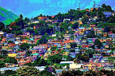 Photograph - Yauco On The Hill by Ricardo J Ruiz de Porras