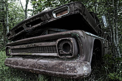 Photograph - Yawning Chevy by Andy Crawford