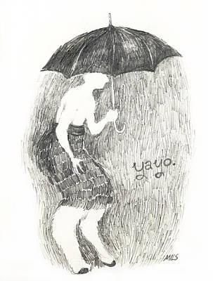Lana Del Rey Drawing - Yayo by Mils Gan
