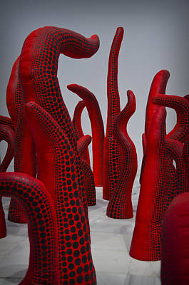 Surrealism Royalty-Free and Rights-Managed Images - Yayoi Kusama by Pablo Lopez