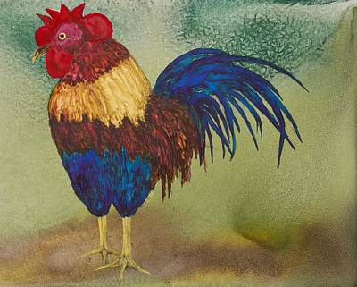 Painting - Ybor Rooster by Patricia Beebe