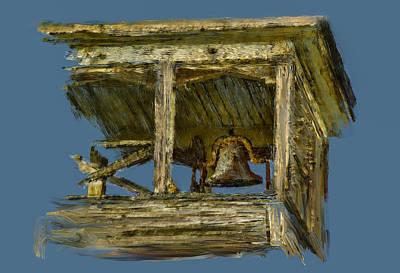 Digital Art - Ye Old School Bell 2 by Dale Stillman