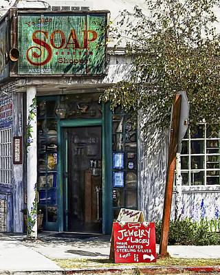 Photograph - Ye Old Soap Shop by Wayne Wood