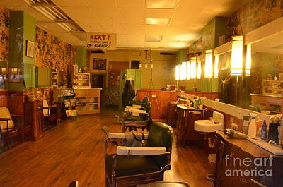 Photograph - Ye Olde Barber Shop by Bob Sample