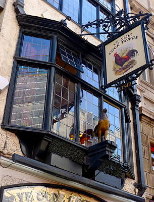 Photograph - Ye Olde Cock Tavern by Denise Mazzocco