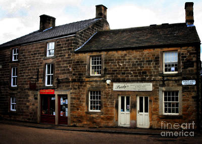 Photograph - Ye Olde Country Shops - In Scotland by Doc Braham